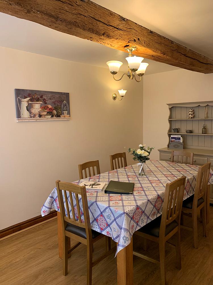 Chestnuts dining room