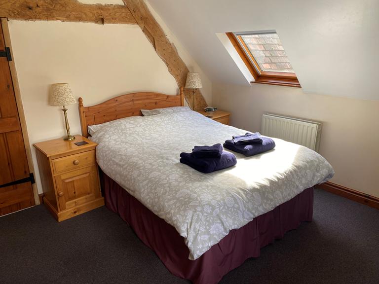 Chestnuts double bedroom