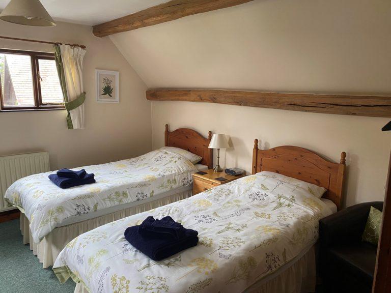 Copper Beech bedroom
